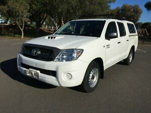 2011 Toyota Hilux KUN16R MY11 Upgrade SR 5 Speed Manual Dual Cab Pick-up Clarence Gardens Mitcham Area Preview