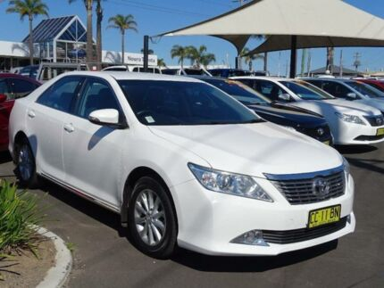 2014 Toyota Aurion GSV50R AT-X White 6 Speed Automatic Sedan South Nowra Nowra-Bomaderry Preview