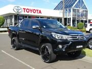 2017 Toyota Hilux GUN126R SR5 (4x4) Black 6 Speed Automatic Dual Cab Utility South Nowra Nowra-Bomaderry Preview