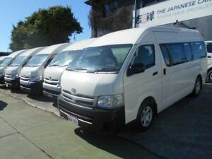 2011 Toyota HiAce KDH223R MY11 Upgrade Commuter White 4 Speed Automatic Bus Five Dock Canada Bay Area Preview