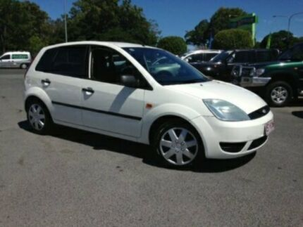 2004 Ford Fiesta WP LX White Automatic Hatchback