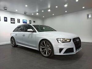 2014 Audi RS4 B8 8K MY14 Avant S Tronic Quattro Grey 7 Speed Sports Automatic Dual Clutch Wagon