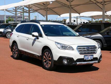 2016 Subaru Outback MY16 2.5I White Continuous Variable Wagon Jandakot Cockburn Area Preview