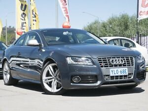 2008 Audi S5 8T MY09 Quattro Grey 6 Speed Manual Coupe Pearce Woden Valley Preview