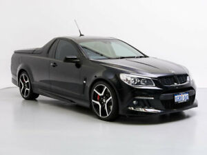 2013 Holden Special Vehicles Maloo GEN F R8 Black 6 Speed Manual Utility