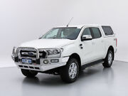 2016 Ford Ranger PX MkII XLT 3.2 (4x4) White 6 Speed Automatic Dual Cab Utility Jandakot Cockburn Area Preview