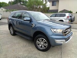 2017 Ford Everest UA MY17 Trend (RWD) Blue 6 Speed Automatic SUV Sylvania Sutherland Area Preview