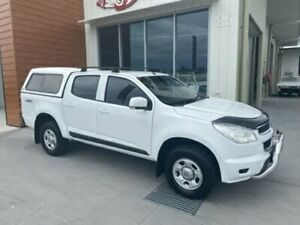2015 Holden Colorado RG MY15 LS DUAL CAB White Semi Auto Cab Chassis Bells Creek Caloundra Area Preview
