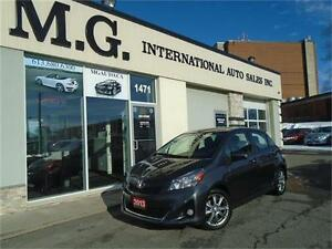 2013 Toyota Yaris SE Hatchback w/Bluetooth