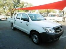 2011 Toyota Hilux TGN16R MY10 Workmate White 5 Speed Manual Utility Embleton Bayswater Area Preview