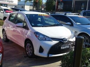 2016 Toyota Yaris NCP130R MY15 Ascent White 4 Speed Automatic Hatchback Ulladulla Shoalhaven Area Preview