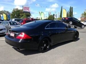 2005 Mercedes-Benz CLS350 C219 Coupe Black 7 Speed Sports Automatic Sedan