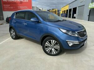 2014 Kia Sportage SL Series 2 Platinum (AWD) Blue 6 Speed Automatic Wagon