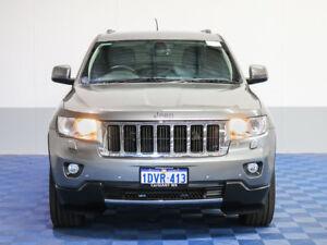 2012 Jeep Grand Cherokee WK MY12 Limited (4x4) Gunmetal 6 Speed Automatic Wagon