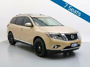 2015 Nissan Pathfinder R52 MY15 TI (4x4) Gold Continuous Variable Wagon Jandakot Cockburn Area Preview