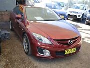 2008 Mazda 6 GH1051 Luxury Sports Red 5 Speed Sports Automatic Hatchback Mount Druitt Blacktown Area Preview