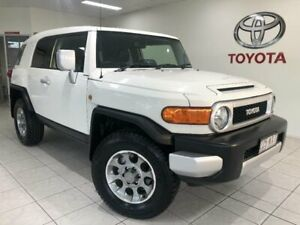 2013 Toyota FJ Cruiser GSJ15R MY14 French Vanilla 5 Speed Automatic Wagon Bungalow Cairns City Preview