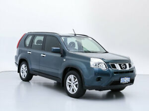2011 Nissan X-Trail T31 MY11 ST (4x4) Blue 6 Speed CVT Auto Sequential Wagon