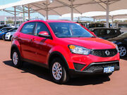 2015 Ssangyong Korando C200 MY14 S Red 6 Speed Automatic Wagon Morley Bayswater Area Preview