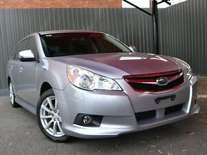 2011 Subaru Liberty B5 MY11 2.5i Lineartronic AWD Silver 6 Speed Constant Variable Wagon Fawkner Moreland Area Preview