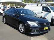 2012 Toyota Aurion GSV40R 09 Upgrade Sportivo SX6 Black 6 Speed Auto Sequential Sedan South Nowra Nowra-Bomaderry Preview
