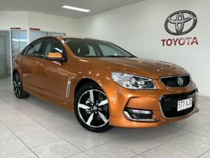 2017 Holden Commodore VF II MY17 SV6 Orange 6 Speed Automatic Sedan Parramatta Park Cairns City Preview