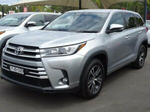 2017 Toyota Kluger GSU55R GX (4x4) Silver 6 Speed Automatic Wagon South Nowra Nowra-Bomaderry Preview