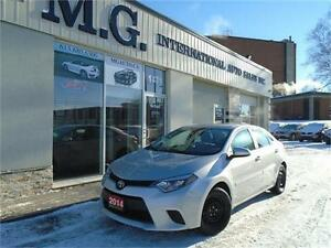 2014 Toyota Corolla LE w/Heated Seats/Bluetooth/Backup Camera