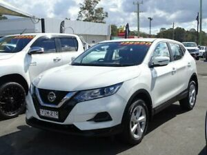 2018 Nissan Qashqai J11 MY18 ST White Continuous Variable Wagon South Nowra Nowra-Bomaderry Preview