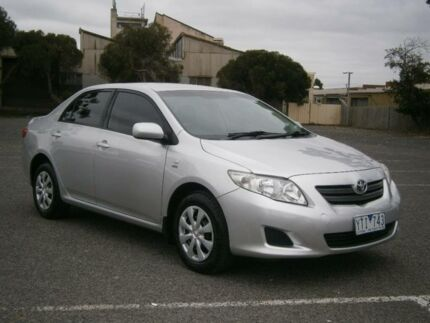 2007 Toyota Corolla ZRE152R Ascent Silver 6 Speed Manual Sedan Braybrook Maribyrnong Area Preview