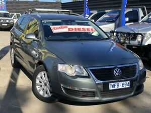 2008 Volkswagen Passat 3C MY09 Upgrade 103 TDI Green 6 Speed Direct Shift Wagon Werribee Wyndham Area Preview