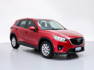 2014 Mazda CX-5 MY13 Upgrade Maxx Sport (4x4) Red 6 Speed Automatic Wagon