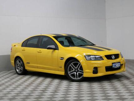 2010 Holden Commodore VE II SS Yellow 6 Speed Manual Sedan