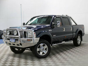 Used 2007 FORD F250 LARIAT 4X4 DUALCAB 6.0 TURBO DIESEL AUTOMATIC