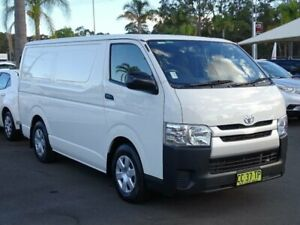 2014 Toyota HiAce KDH201R MY14 LWB White 5 Speed Manual Van South Nowra Nowra-Bomaderry Preview