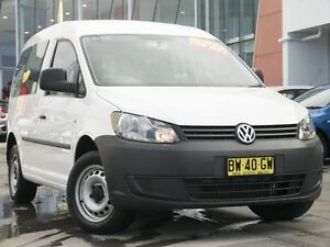 2013 Volkswagen Caddy 2KN MY13 TDI250 SWB DSG White 7 Speed Sports Automatic Dual Clutch Van Pearce Woden Valley Preview