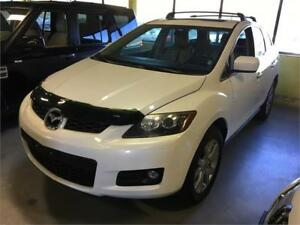2008 Mazda CX7 GT white Auto Fully loaded Leather, Roof, Alloy