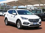 2017 Hyundai Santa Fe DM Series II (DM3)MY17 Elite CRDi (4x4) White Crystal 6 Speed Automatic Wagon Jandakot Cockburn Area Preview