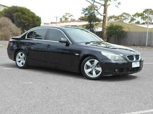 2003 BMW 530i E39 Executive Black 5 Speed Auto Steptronic Sedan Maidstone Maribyrnong Area Preview