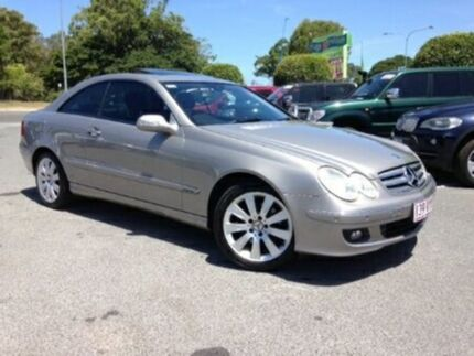 2006 Mercedes-Benz CLK350 A209 MY07 Elegance Silver 7 Speed Semi Auto Coupe