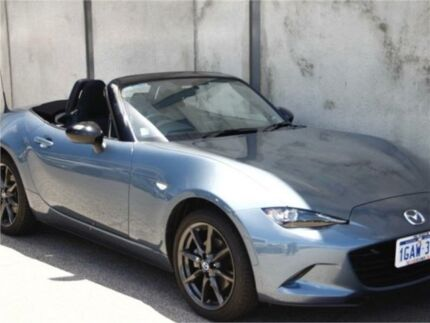 2015 Mazda MX-5 ND GT Blue Manual Roadster
