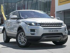 2012 Land Rover Range Rover Evoque L538 MY12 ED4 Pure Silver 6 Speed Manual Wagon Pearce Woden Valley Preview