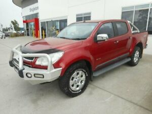 2014 Holden Colorado RG MY14 LTZ (4x4) Red 6 Speed Manual Crew Cab Pickup Singleton Heights Singleton Area Preview