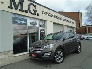 2013 Hyundai Santa Fe Limited 2.0T AWD w/Leather/Navi/Pano Roof