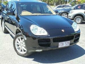 2005 Porsche Cayenne 9PA MY06 S Black 6 Speed Sports Automatic Wagon Bundall Gold Coast City Preview