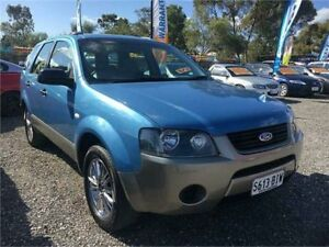2006 Ford Territory SY TX (RWD) Blue 4 Speed Auto Seq Sportshift Wagon Elizabeth West Playford Area Preview
