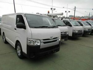2014 Toyota HiAce TRH201R MY14 LWB White 4 Speed Automatic Van Five Dock Canada Bay Area Preview