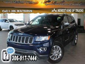 2014 Jeep Grand Cherokee Limited AWD Leather Sunroof