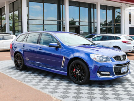 2016 Holden Commodore VF II MY16 SS V Sportwagon Redline Blue 6 Speed Sports Automatic Wagon Alfred Cove Melville Area Preview