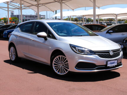 2017 Holden Astra BK MY17 R Nitrate 6 Speed Automatic Hatchback